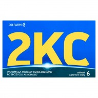 Colfarm 2KC Suplement diety 3 g (6 tabletek)