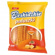 Aksam Beskidzkie Paluszki o smaku ser pomidor 210 g