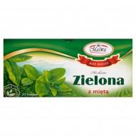 Malwa Herbata zielona z miętą 40 g (20 torebek)