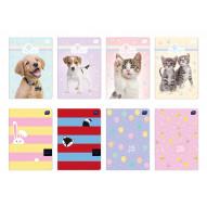 Zeszyt A5 16 kolorowa linia UV kolekcja Puppy Sign/Girls