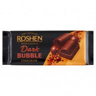 Roshen Czekolada z bąbelkami ekstra gorzka 80 g