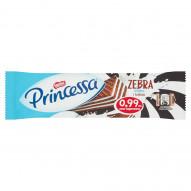 Princessa Zebra Kakaowy wafel przekładany kremem mlecznym 33 g