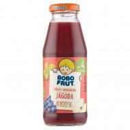 Bobo Frut 100% sok jabłko winogrona jagoda po 4. miesiącu 300 ml