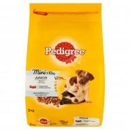 Pedigree Vital Protection Mini Junior z kurczakiem i ryżem Małe rasy Karma pełnoporcjowa 2 kg