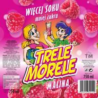 Trele Morele 0,75l - smak malinowy