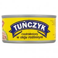 GRAAL Tuńczyk rozdrobniony w oleju roślinnym 185 g