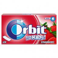 Orbit For Kids Strawberry Guma do żucia bez cukru 27 g (14 pasków)