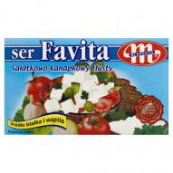 Mlekovita Favita Ser sałatkowo-kanapkowy tłusty 270 g