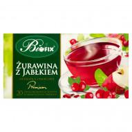 Bifix Premium żurawina z jabłkiem Herbatka owocowa 40 g (20 saszetek)