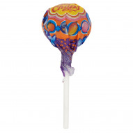 Chupa Chups XXL 4D Lizak o smaku tutti frutti mandarynki i mango z gumą balonową 29 g