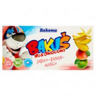 Bakoma Bakuś Mus owocowy jabłko-banan-mango 200 g (2 sztuki)