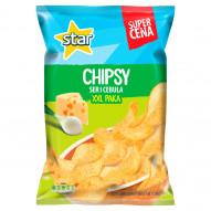 Star Chipsy ser i cebula 250 g