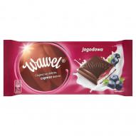 Wawel Jagodowa Czekolada nadziewana 100 g