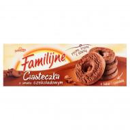 Familijne Ciasteczka o smaku czekoladowym 160 g