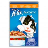 Felix Fantastic Karma dla kotów z kurczakiem i pomidorami w galaretce 100 g