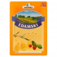 MSM Mońki Edamski ser pełnotłusty typu holenderskiego plastry 150 g