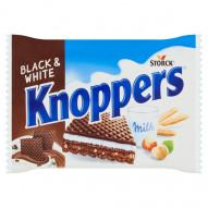 Knoppers Black & White Wafelek mleczno-orzechowy 25 g