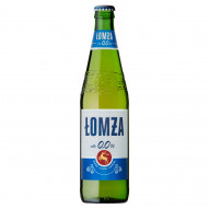 Łomża Piwo jasne bezalkoholowe 500 ml