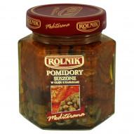 Rolnik Mediterana Pomidory suszone w oleju z kaparami 280 g