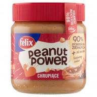 Felix Peanut Power Chrupiące Krem orzechowy 350 g