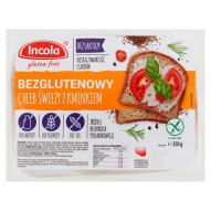 Incola Chleb świeży z kminkiem bezglutenowy 350 g