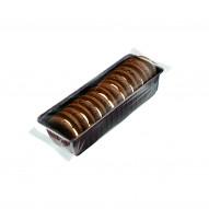 Delicpol Czarna Lejdi – biszkopty kakaowe z galaretką i kremem 125g