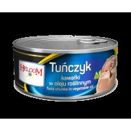 Tuńczyk kawałki w oleju 170g Helcom