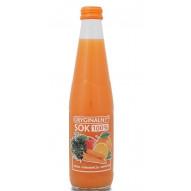 Biurkom oryginalny sok jabłko/pomarańcza/marchew 330ML