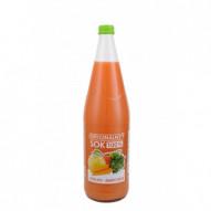Biurkom oryginalny sok jabłko/marchew 1L